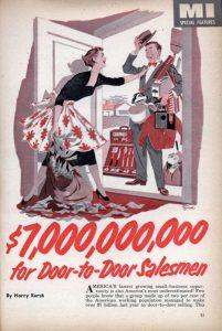 Door to Door Salesperson